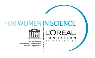 for women in science logo x