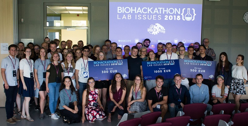 The first BioHackathon in Lithuania was held at VU LSC